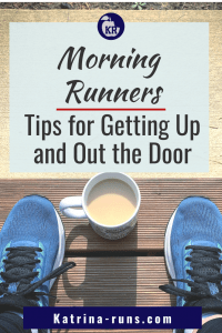 graphic Morning Runners Tips for Getting up and out the door.
