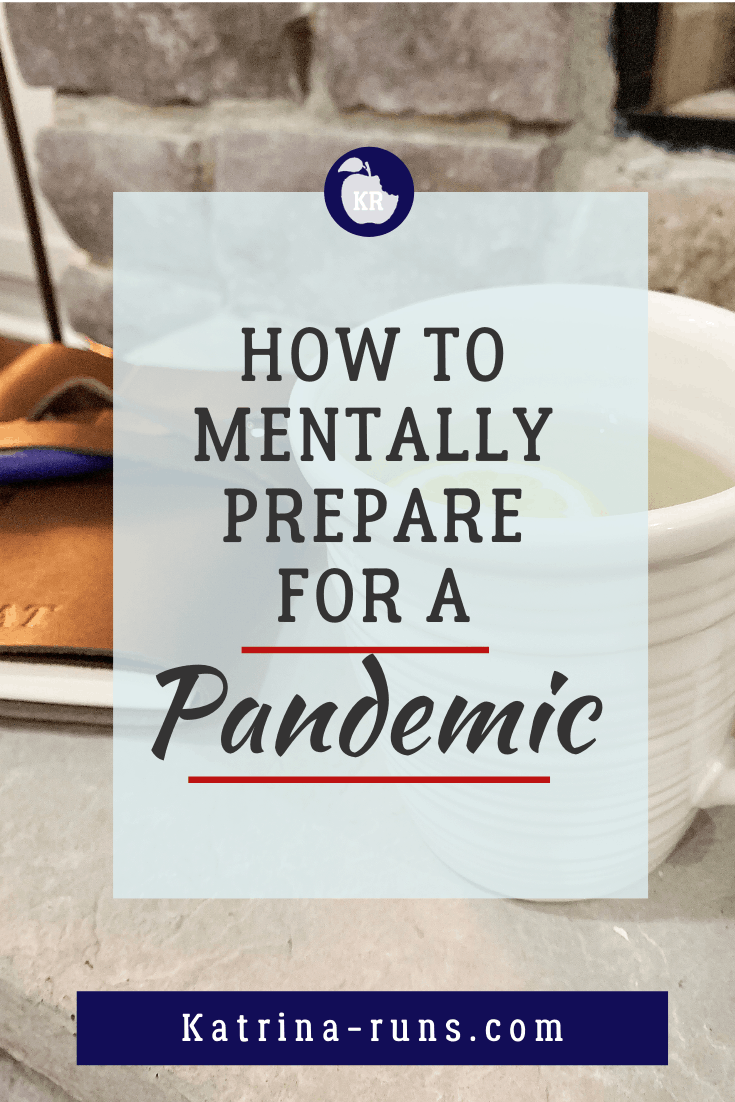 Graphic with How to Mentally Prepare for a Pandemic