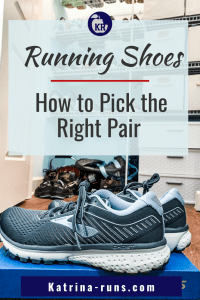 "Graphic ""running shoes how to pick the right pair"""