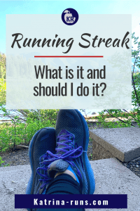"""Graphic with """"Running Streaking"""""""